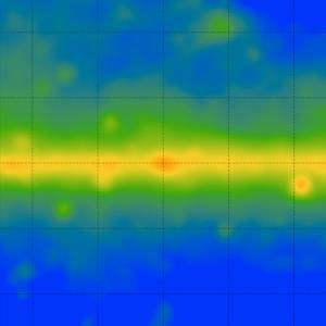 Observations show an excess of gamma rays in our galaxy.