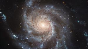 The Pinwheel galaxy is a fine example of a spiral galaxy.