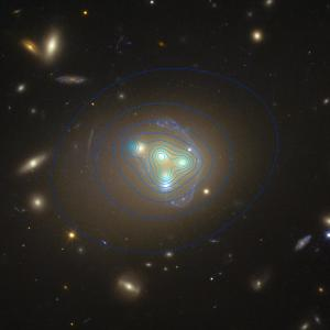 Mapping dark matter in Abell 3827.