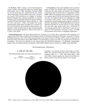 The Planet Nine black hole is small enough to put in a paper.