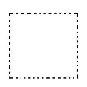 A simple square.
