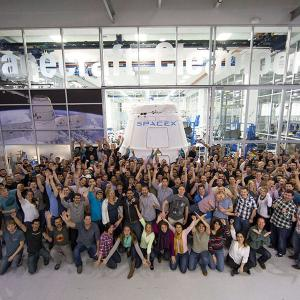 More than 7,000 people work at SpaceX.