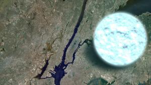 Your average neutron star compared with New York City.
