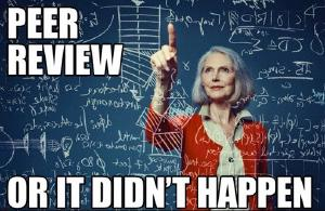 Peer review is central to science.
