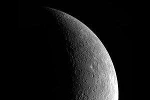 An image of Mercury.