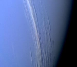 High altitude clouds on Neptune.