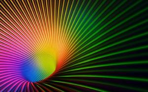 Rainbow gravity is an alternative to general relativity.