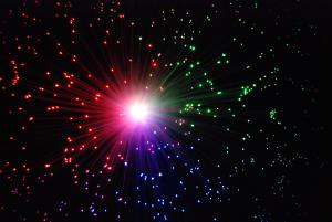 Fiber optics look like the big bang.