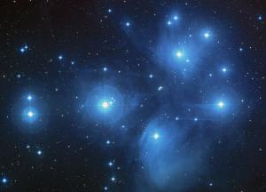 A view of the Pleiades.