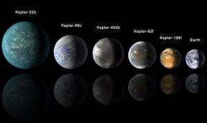 Superearths come in a range of sizes larger than Earth.