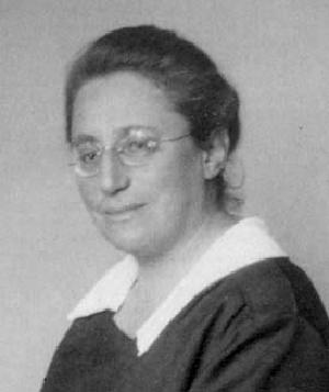 Emmy Noether, 1930.
