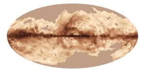 Magnetic Map of Milky Way.