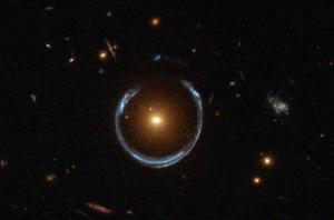 The Horseshoe Einstein ring as seen by Hubble.