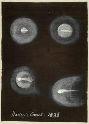 Caroline Herschel's observation of Halley's comet.