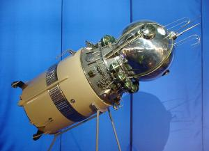 A model of Vostok I.