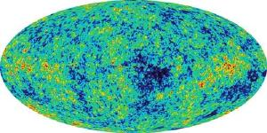 The cosmic microwave background.